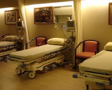 舒適的恢復室