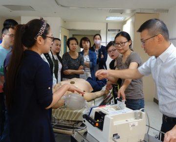 107年11月17-18日「高級心臟救命術ACLS」訓練課程