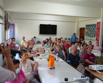 109年12月份社區健康講座