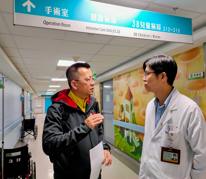 聖保祿醫院與兒科診所轉診合作-共同照護兒科病童成效佳