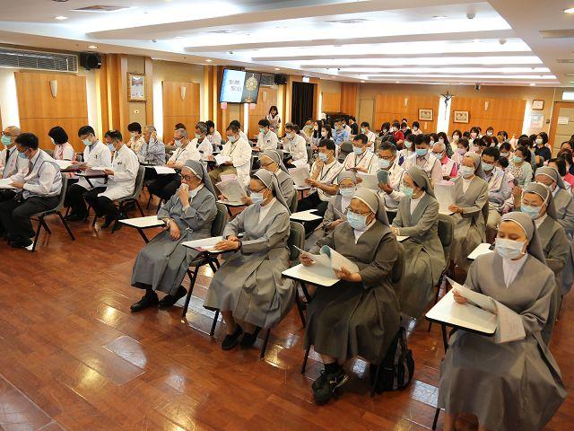 <p>6月29日沙爾德聖保祿修女會來台服務60周年鑽慶。</p>